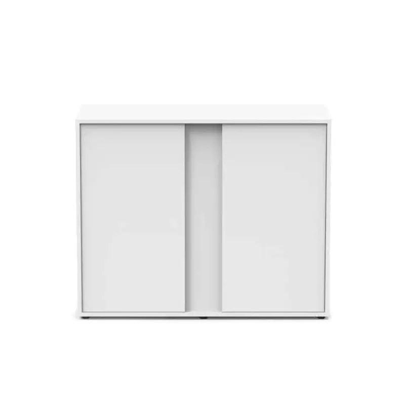 aquatlantis meuble blanc pour aquarium elegance expert 100cm