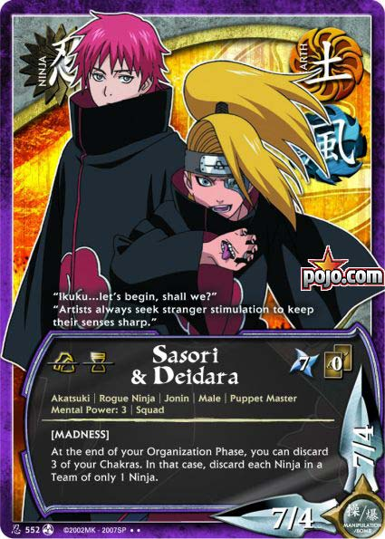 Pojos Naruto Site  News Tips Decks  Feature Articles