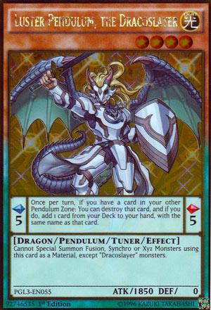 luster pendulum the dracoslayer