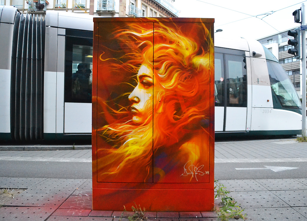 Rencontre avec Dan23, l'adorable sale gosse du street art strasbourgeois