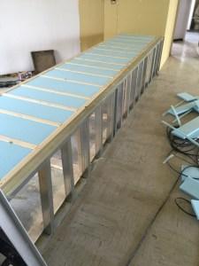 ペットショップ犬猫用床暖房工事