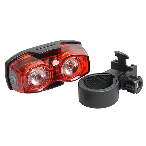 Фото New Bright Bike Bicycle Cycling 2 LED Flashing Lamp Safety Back Rear Tail Lights 88 B2Cshop
