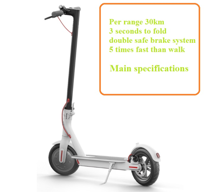Фото Original xiaomi electric scooter M365 with APP smart folding lightweight kick mini adult scooter 30km mileage long hoverboard