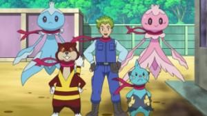 L'équipe de secours Pokémon au complet !
