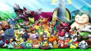 Sacha et tous ses Pokemon !