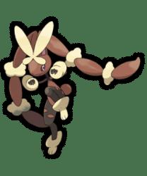 Pokemon ROSA - Art Mega-Lockpin