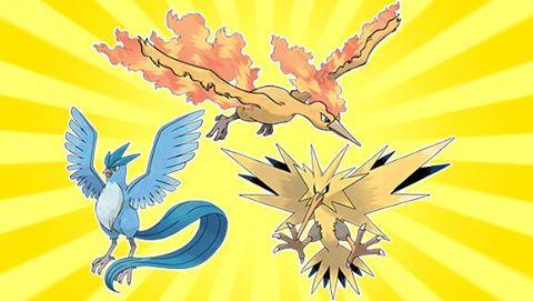 Capture des Pokémon Légendaires - Artikodin, Electhor et Sulfura - Eternia