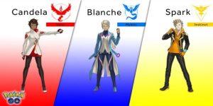 pokemon go blanche candela spark
