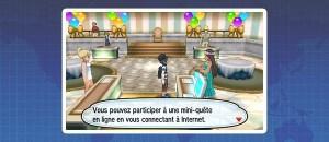 Pokémon Ultra-Soleil et Ultra-Lune - Mini-quêtes en ligne