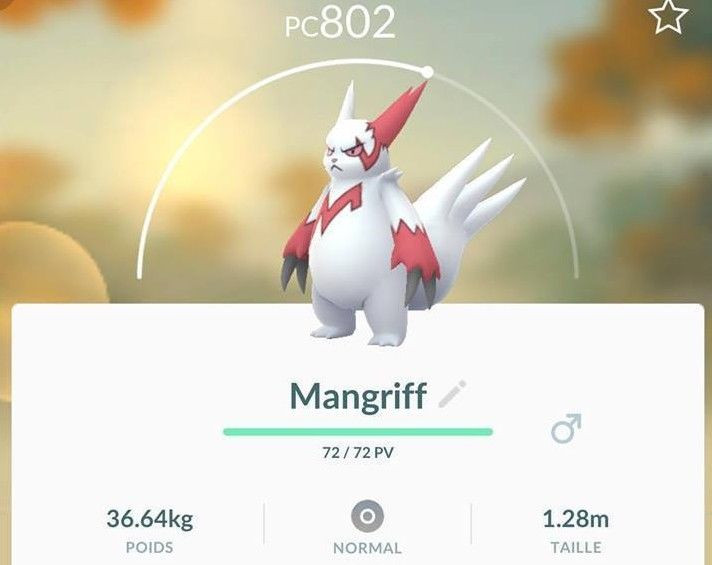 Pokémon GO - Mangriff