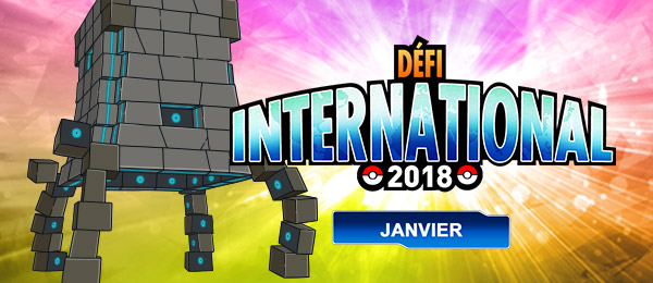 Pokémon Ultra-Soleil et Ultra-Lune - Défi International de Janvier