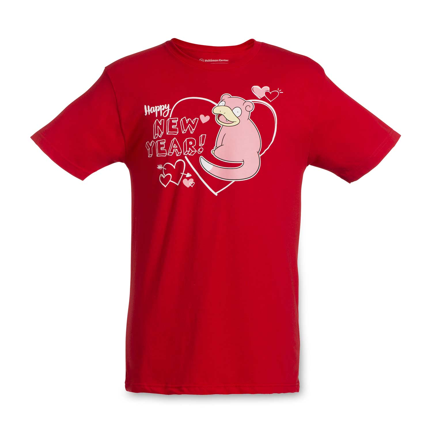 Slowpoke Valentine Relaxed Fit Crew Neck T Shirt