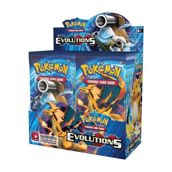 Xy Evolutions Pokemon Cards Booster Box