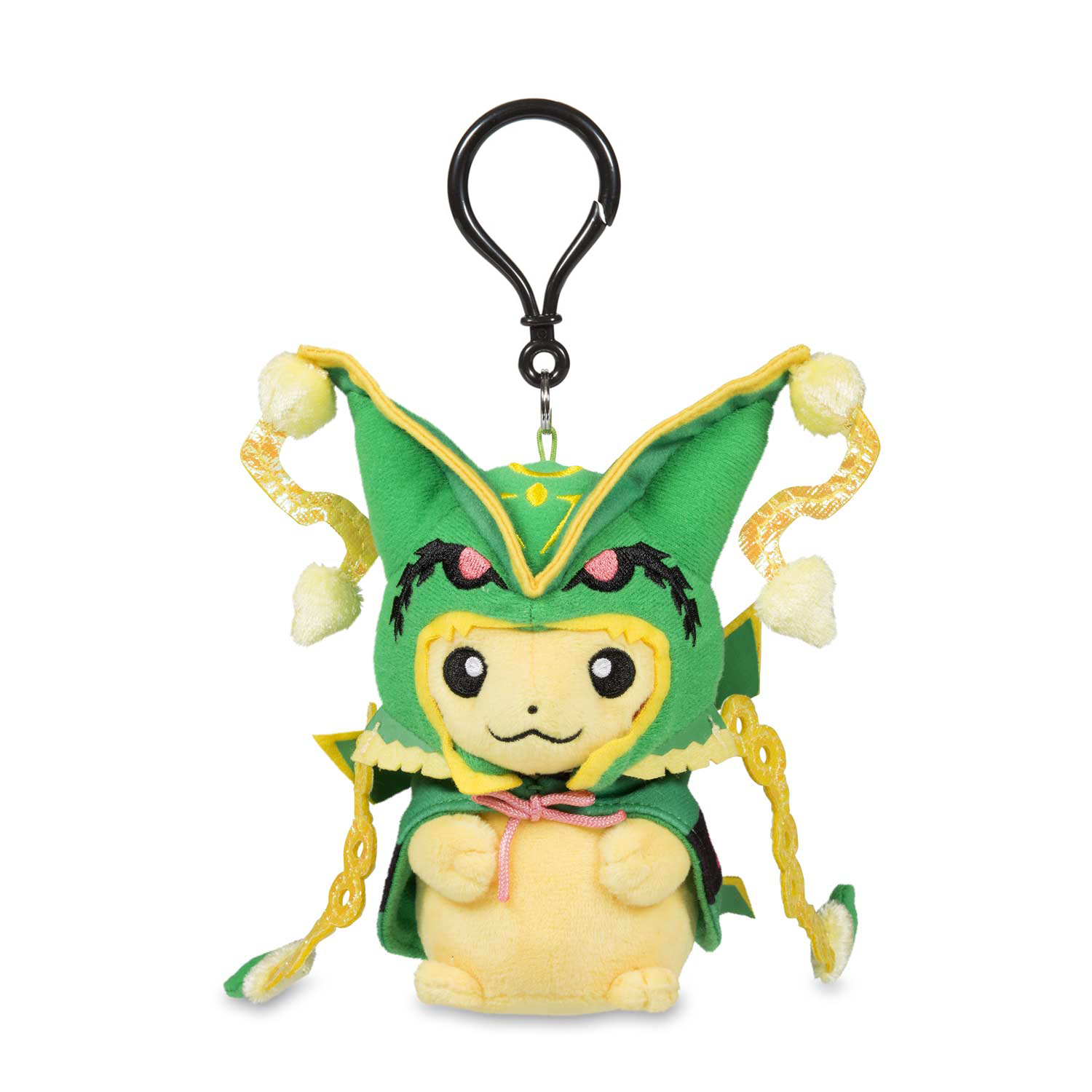 pikachu with mega rayquaza