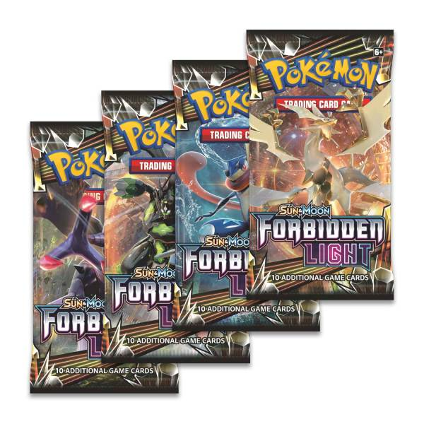 Pokmon Tcg Sun & Moon Forbidden Light Booster Display Box 36 Packs Center