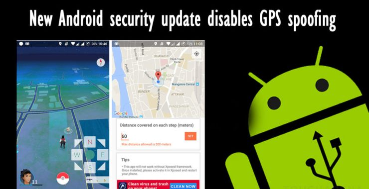 Pokemon GO: GPS Spoofing Disabled By Android Security Update