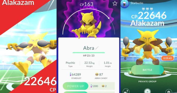 Pokemon GO Raids Alakazam