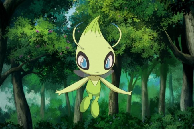 Happiness follows wherever Celebi goes