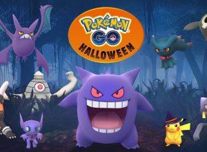 Pokemon Go Halloween event box