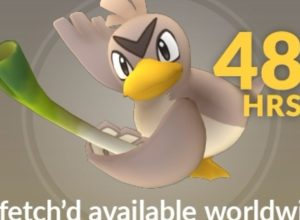 pokemon go event to unlock farfetch'd