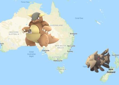 Pokemon Go Strangest Regional Exclusive Pokemon