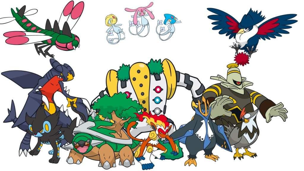 Pokemon Go Gen 4 Pokemon List T – Fondos de Pantalla