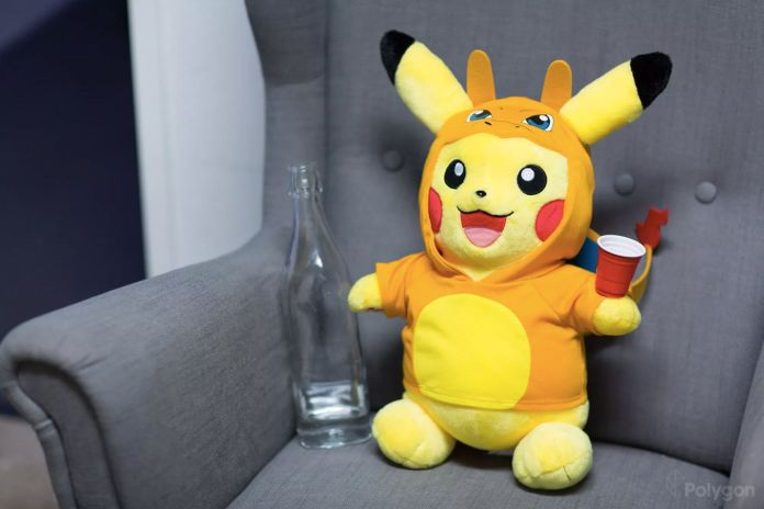 Build-A-Bear pikachu 5