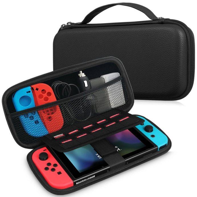 Custodia in pelle Nintendo Switch