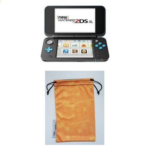 New Nintendo 2DS XL Nero Turchese custodia