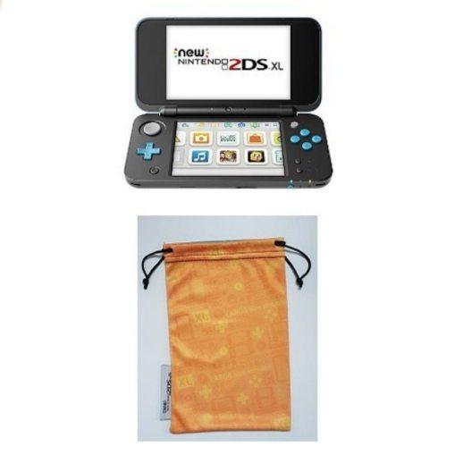 New Nintendo 2DS XL Nero Turchese custodia