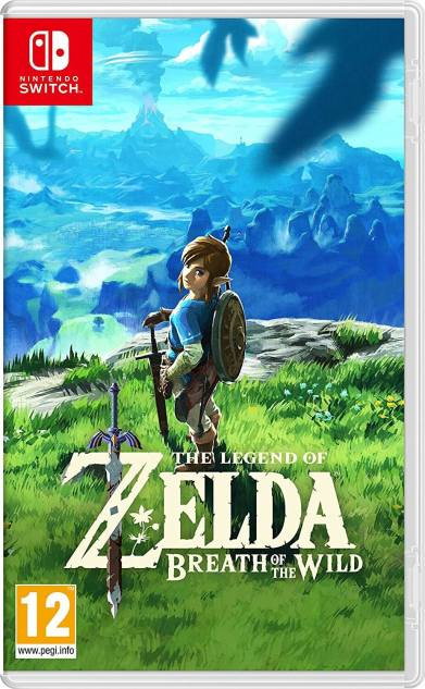 copertina the legend of zelda breath of the wild
