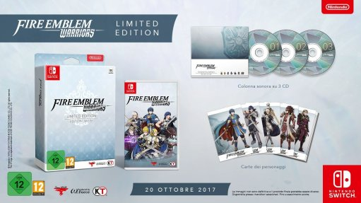 Fire Emblem Warriors Limited