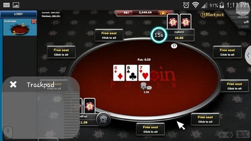 TABLE de poker-betcoin