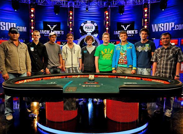 Esta noche se juega la mesa final de las WSOP  Poker Red