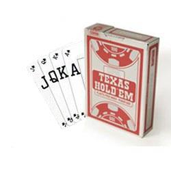 Copag Texas Hold'em - Silver Peek (röd)