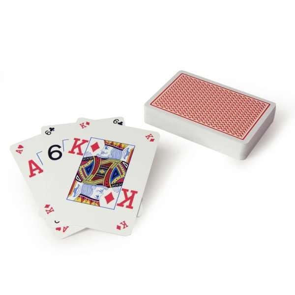 Copag Texas Hold'em Silver Peek - Röd