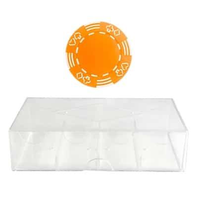 Royal Suited - Orange (100-pack med markerlåda)