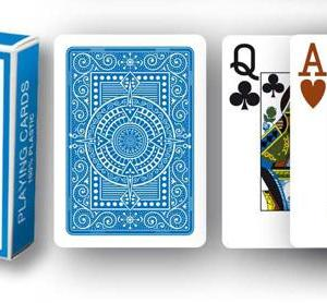 Modiano Texas Poker Hold'em - Ljusblå