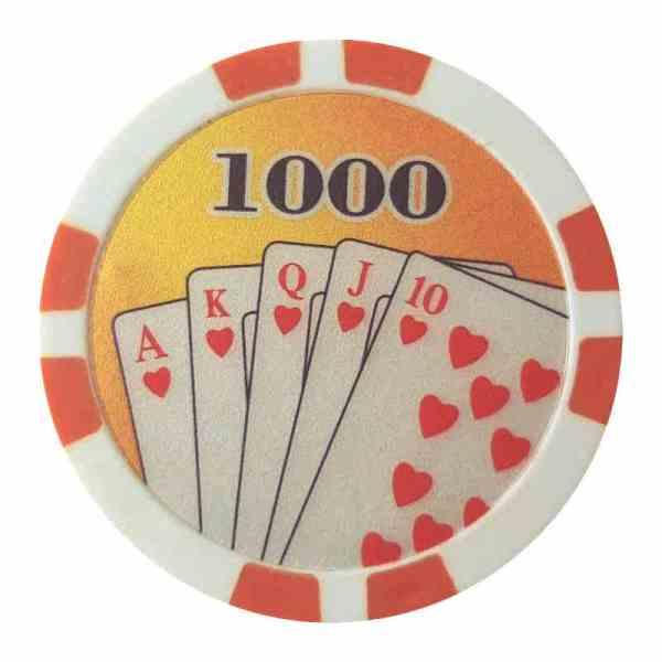 Royal Flush Orange 1000