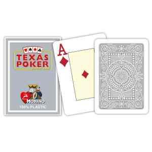 Modiano Texas Poker Hold'em - Grå