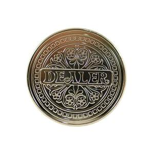 Delaer Button Silver