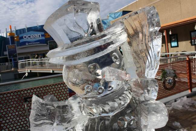 Mystic Ice Sculptures!