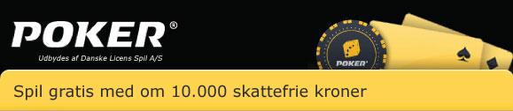 Weekend med freeroll med 10.000 skattefrie kroner!