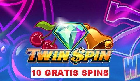 Unibet lancerer Twin Spins med gratis spins uden krav om indbetaling!