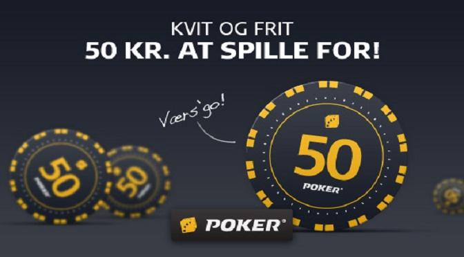 Prøv poker med Danske Spils gratis poker bonus