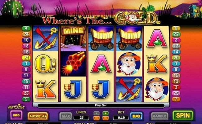 Where S The Gold Online Pokie Review Pokies