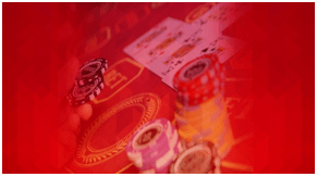 Poker Cards Under Screening