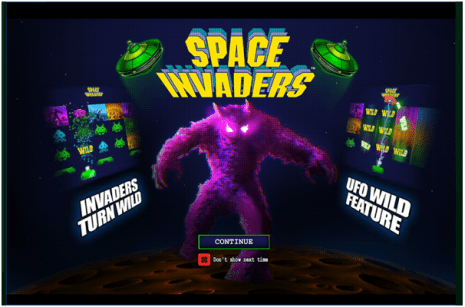 Space Invader pokie