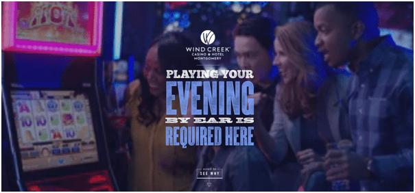 Wind Creek Casino pokies