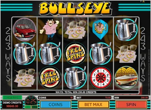 Bullseye pokies